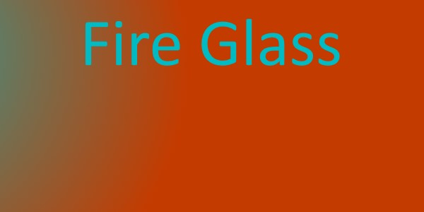 What Is Fire Glass