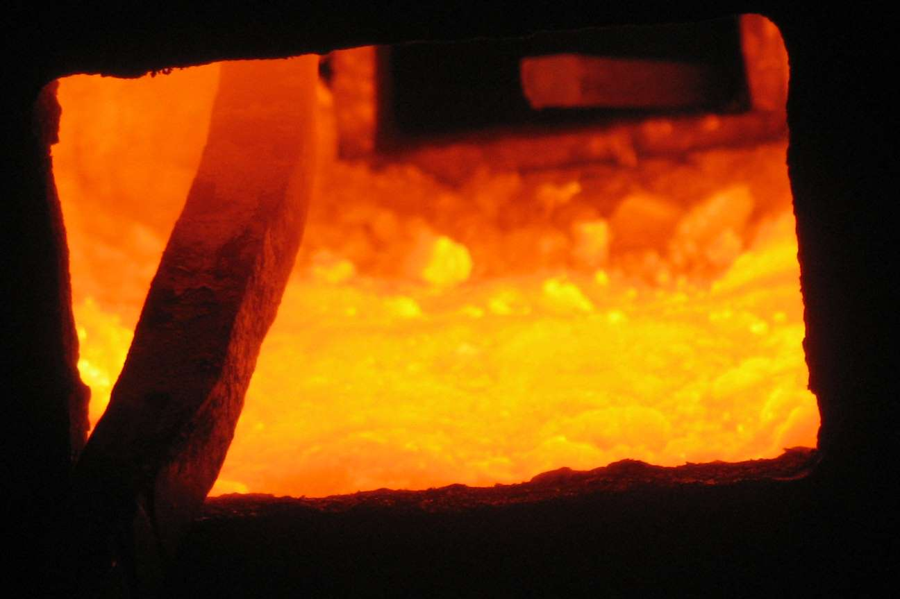 The Interior of A Forge