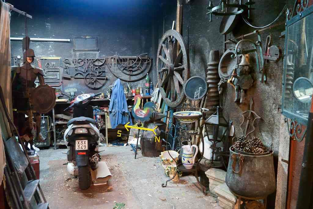 A Blacksmith's Den